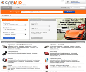 Carmio Website