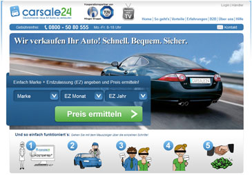 carsale24 Website