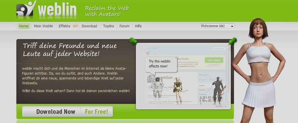 weblin.com - 3D Avatar Messenger